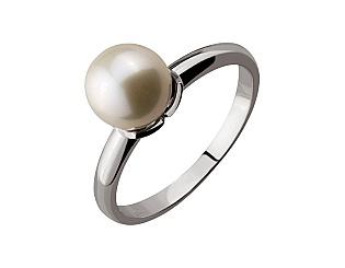 Золотое кольцо с жемчугом 2б_к-089 фотография