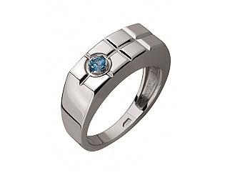 Золотое кольцо с топазами 2к-263 фотография