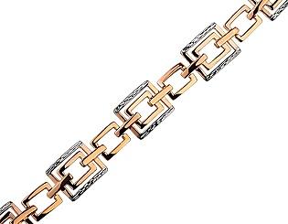 Золотой браслет  01-17593050 фотография