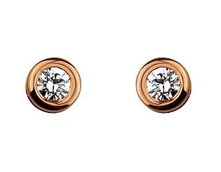 Золотые серьги с бриллиантами 1с-002 фотография