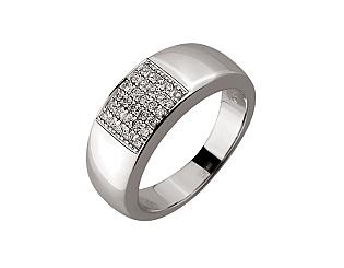 Золотое кольцо с бриллиантами 01-17497153 фотография