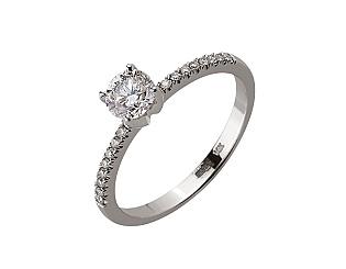 Золотое кольцо с бриллиантами 01-17648354 фотография