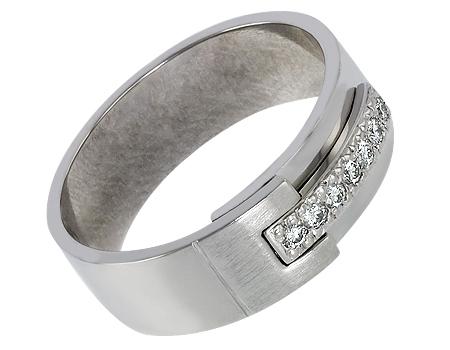 фото платиновое кольцо