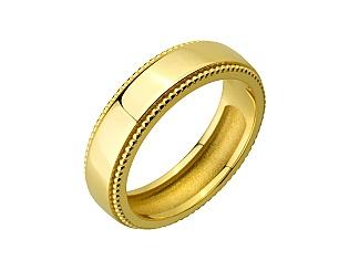 Золота каблучка  3к-271 фотографія