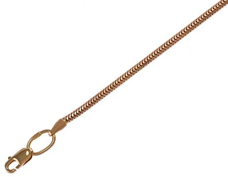 Золотая цепочка Снейк 585 пробы, 1-ц-3-20