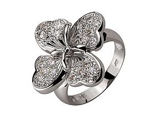 Золотое кольцо с бриллиантами 2б_к-041 фотография