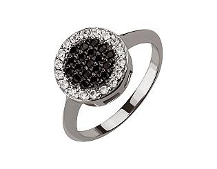 Золотое кольцо с фианитами 01-17051556 фотография