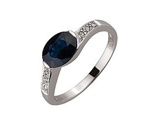 Золотое кольцо с корундами 01-17511057 фотография