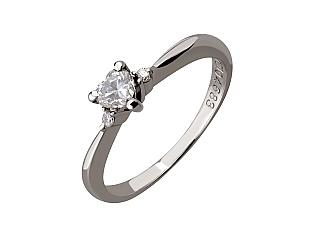 Каблучка з діамантами 03-609-00058 фотографія