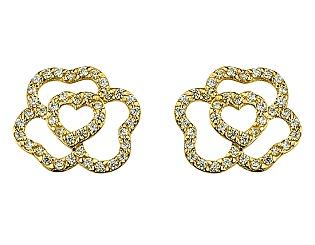 Золотые серьги  01-17528361 фотография