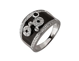 Золотое кольцо с бриллиантами 01-17620861 фотография