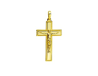 Золотой кулон  3б_п-182 фотография