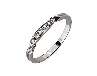 Золота каблучка з діамантом 01-17398862 фотографія