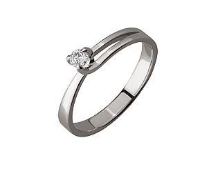Золотое  кольцо с бриллиантом 01-17676162 фотография