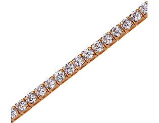 Золотой браслет с фианитами 1б_б-027 фотография