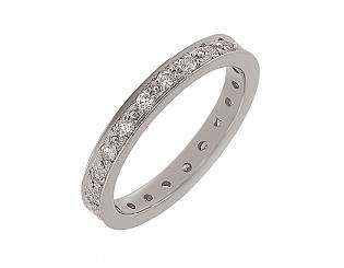 Золотое кольцо с бриллиантами 2к-014 фотография