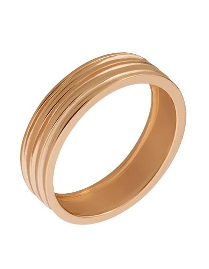 """Золотое обручальное кольцо 585 пробы (15-000065366) """"Ювелирная карта"""""""
