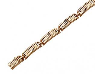 Золотой браслет  1б_б-026 фотография