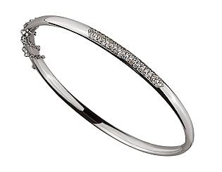 Золотой браслет с бриллиантами 01-17548065 фотография