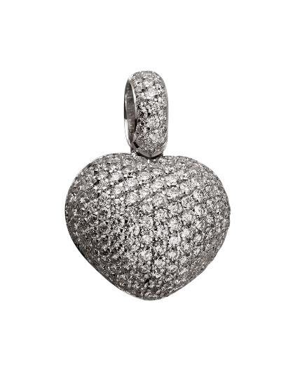 Золотий  кулон з діамантами 01-17620867 фотографія