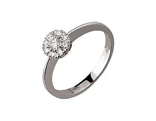 Золотое кольцо с бриллиантами 2б_к-149 фотография
