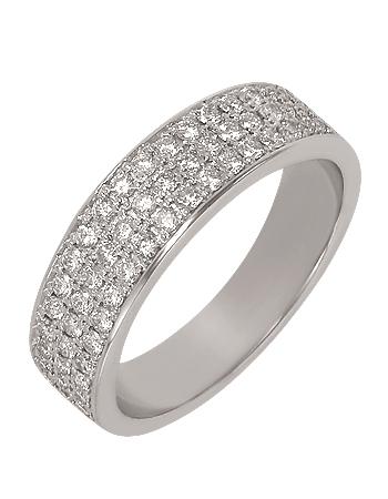 Золота каблучка з діамантами 2б_к-039 фотографія 1