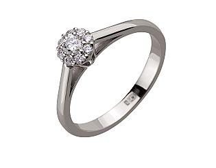 Золотое кольцо с бриллиантами 2б_к-147 фотография