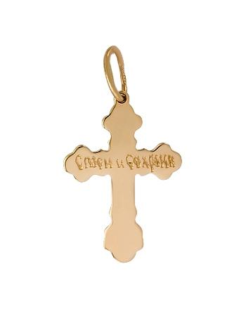 Золотий хрестик  1-кр-74 фотографія 3