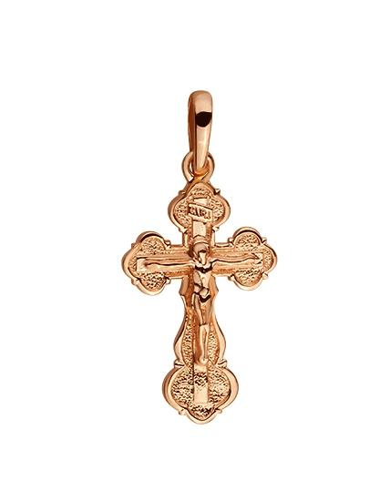 Золотой крестик 585 пробы (15-000082080)