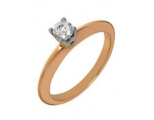 Золотое кольцо с фианитами 4-к-1509 фотография