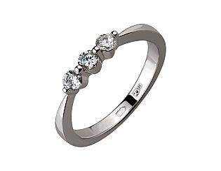 Золотое кольцо с бриллиантом 01-17398874 фотография