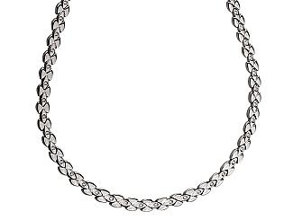 Золотое  колье с бриллиантами 01-17620875 фотография