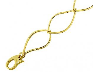 Золотой браслет  3б-028 фотография