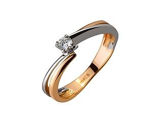 Золотое кольцо с циркониями 01-17522576 фотография