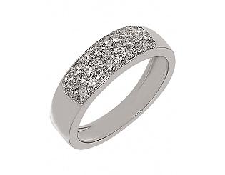 Золотое кольцо с бриллиантами 2б_к-057 фотография