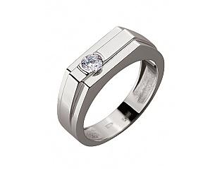 Золотое кольцо с фианитами 2б_к-112 фотография