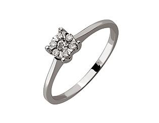 Золотое кольцо с бриллиантами 01-17648380 фотография