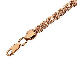 Золотой браслет  1б-021 фотография