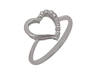 Золотое кольцо с бриллиантом 01-17398881 фотография