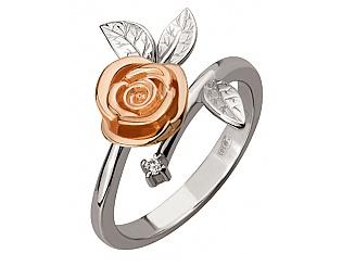 Золотое кольцо с фианитом 4б_к-120 фотография