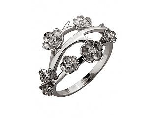 Золотое кольцо с фианитами 2б_к-119 фотография