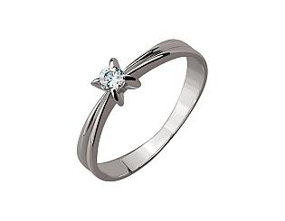 Золотое кольцо с фианитами 01-17270983 фотография