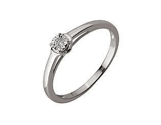 Золотое кольцо с бриллиантами 01-17620884 фотография