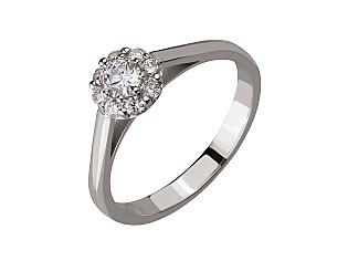 Золотое кольцо с бриллиантами 2б_к-146 фотография