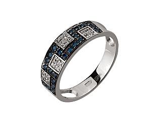 Золотое кольцо с фианитами 11б_к-040 фотография