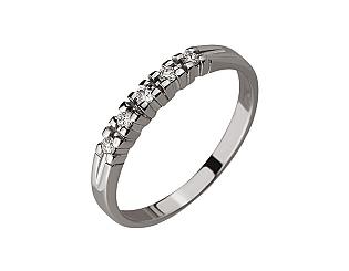 Золотое кольцо с бриллиантом 01-17528485 фотография