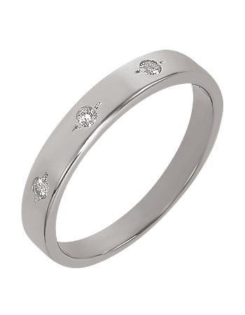 """Золотое обручальное кольцо 585 пробы с бриллиантами (15-000069720) """"Ювелирная карта"""""""