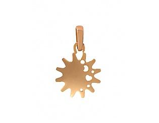 Золотий кулон  1п-173 фотографія