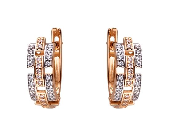 Золоті сережки  01-17506391 фотографія