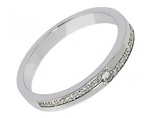 Золотое кольцо с бриллиантами 2к-212 фотография